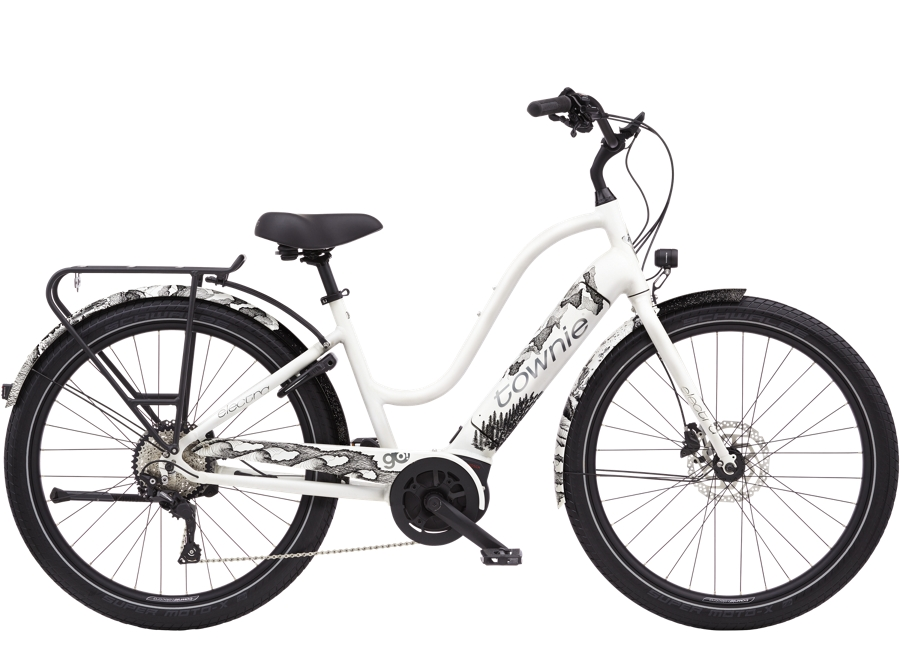 Electra Townie Path Go! 10D EQ Step-Thru M Pearl White